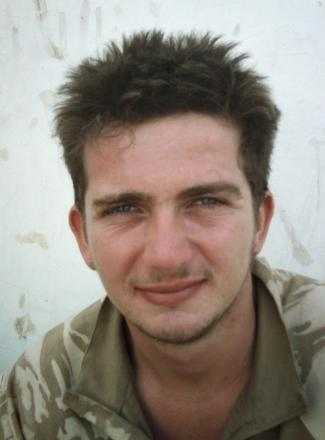 Sapper Jordan Rossi, 22, from Baildon, who died after he was caught in an explosion near Sangin, in Helmand Province.