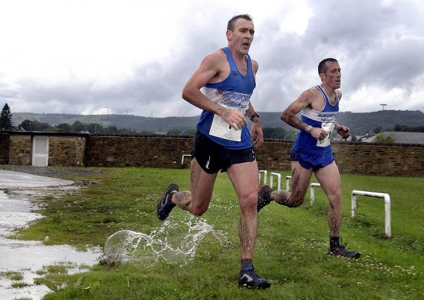 Bradford Telegraph and Argus: Wagon Lane will again stage the finish of the Millennium Way Relay. Here Horsforth Harriers Alek