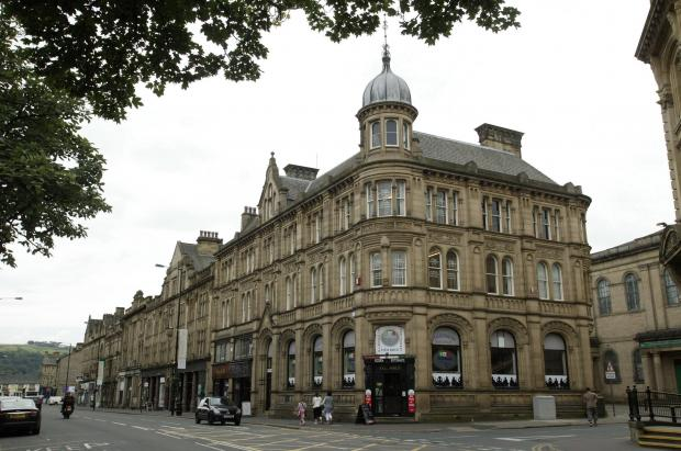 Bradford Telegraph and Argus: Buildings in Keighley which are being improved with help from lottery funding