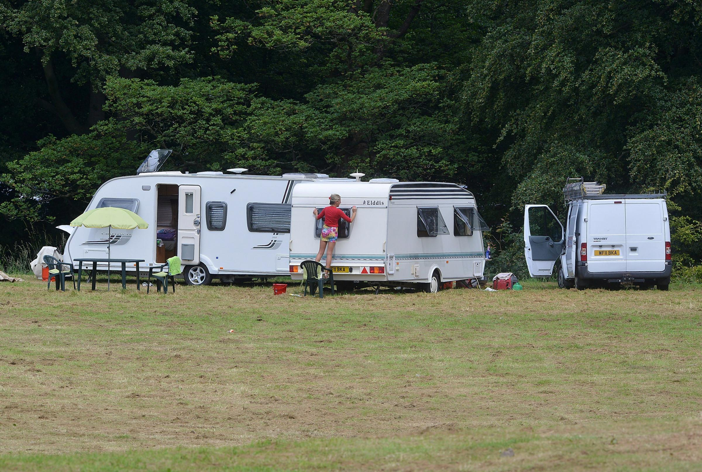 Travellers face legal action by Bradford Council