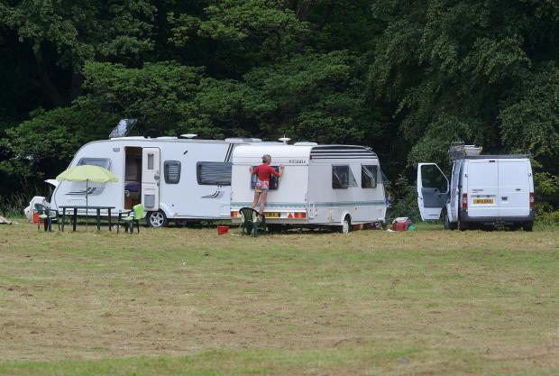 Bradford Telegraph and Argus: ILLEGAL: The travellers&#