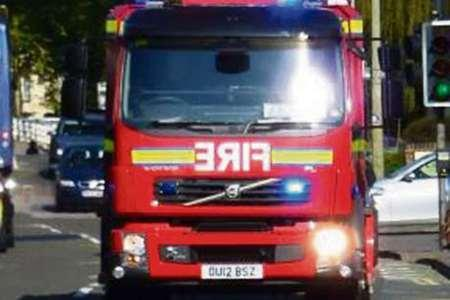 Arson attack on Land Rover in Saltaire