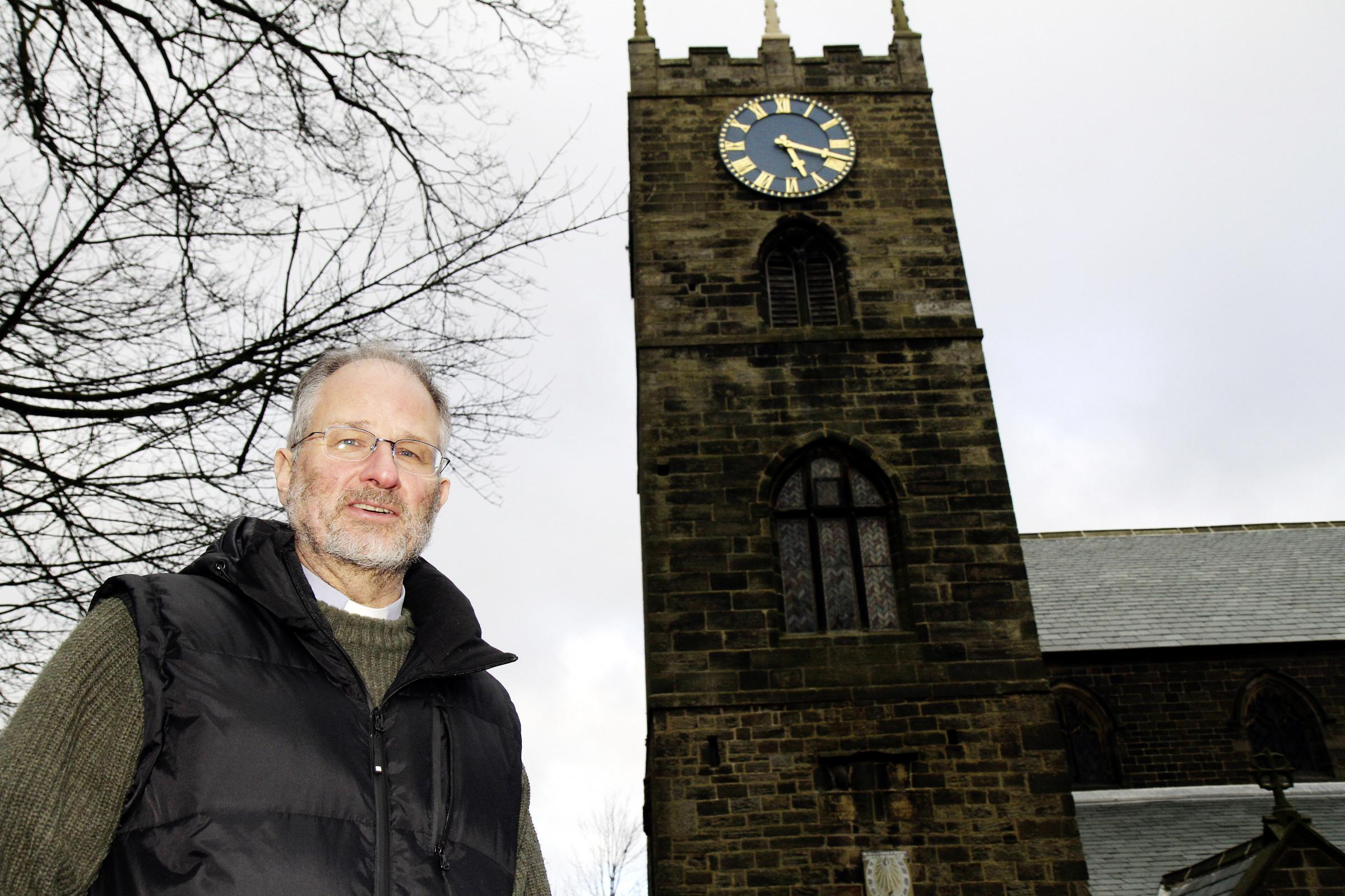 Reverend Peter Mayo-Smith of the newly formed United Benefice of Haworth and Cross Roads