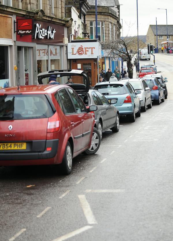 Parking in Bingley