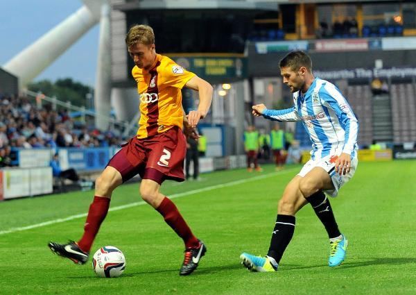 HAPPY DAYS: New City skipper Stephen Darby says he is 'absolutely made up' to remain at Valley Parade