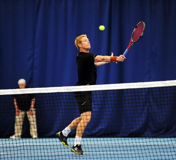 Ed Corrie, pictured playing in the 2012 final, is seeded second next week at Ilkley