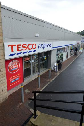 The Tesco Express store on Otley road in Baildon