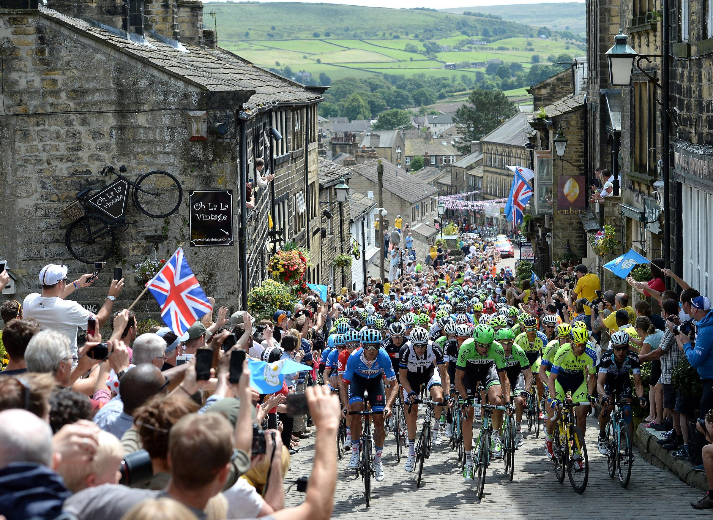 The grand impact of Tour de France on Bradford district