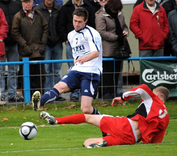Ryan Toulson has made a smooth return to Nethermoor after playing for Altrincham and FC Halifax Town