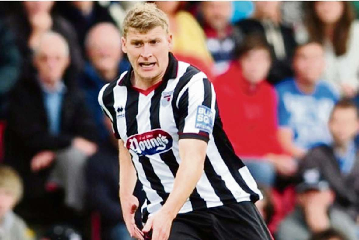 Former Bantams winger Joe Colbeck in action for Grimsby