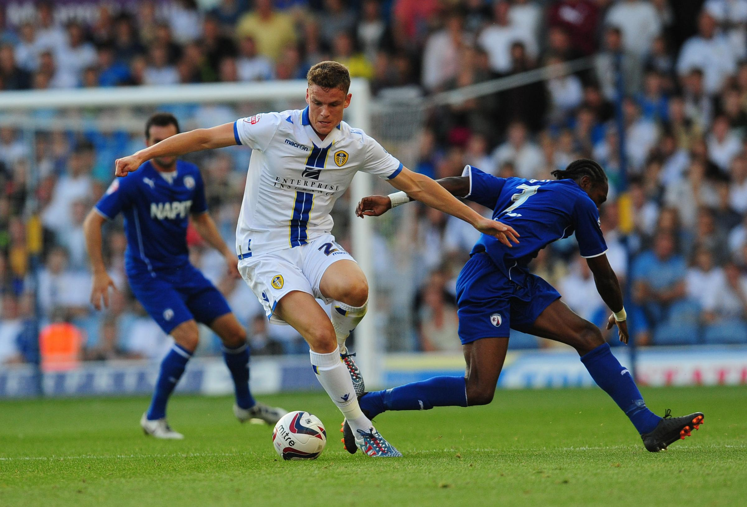 Matt Smith scored six second-half goals in Leeds' opening pre-season match