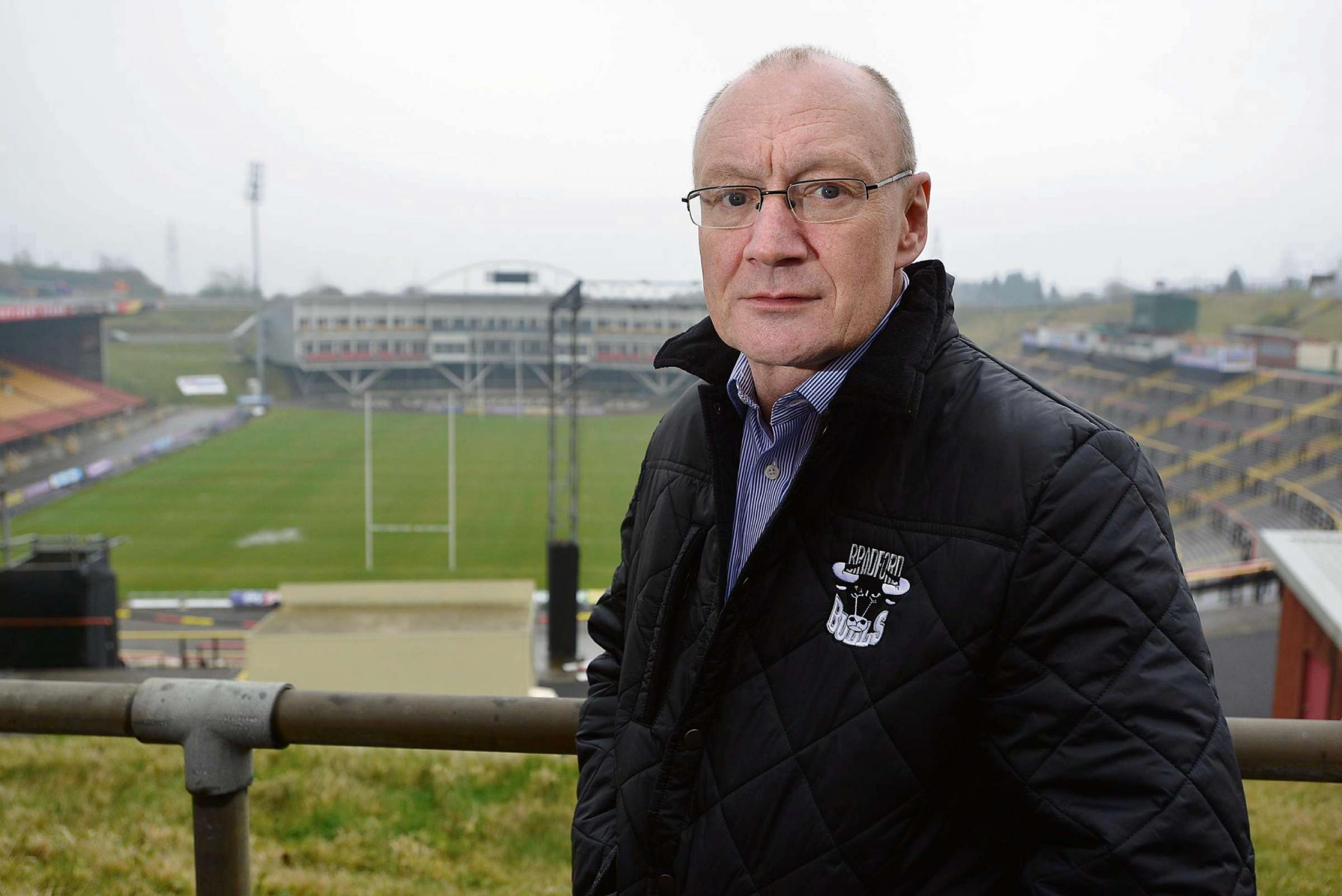 Steve Ferres calls on Bradford Bulls fans to share 'journey'