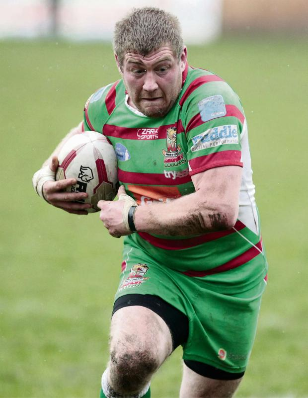 Bradford Telegraph and Argus: Cougars player-coach Paul March