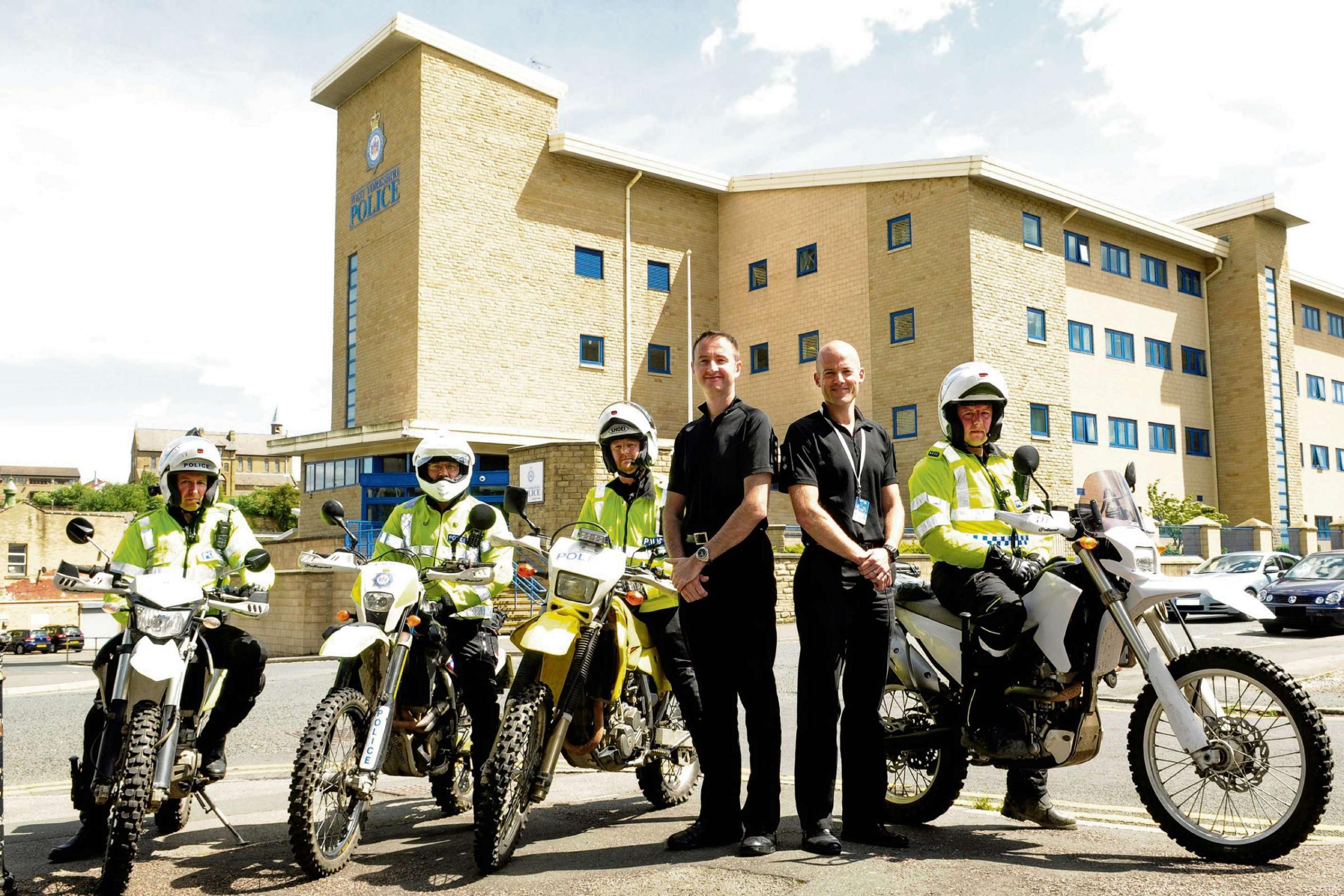 Police 'Quad Squad' vows to rid Bradford's streets of bike menace
