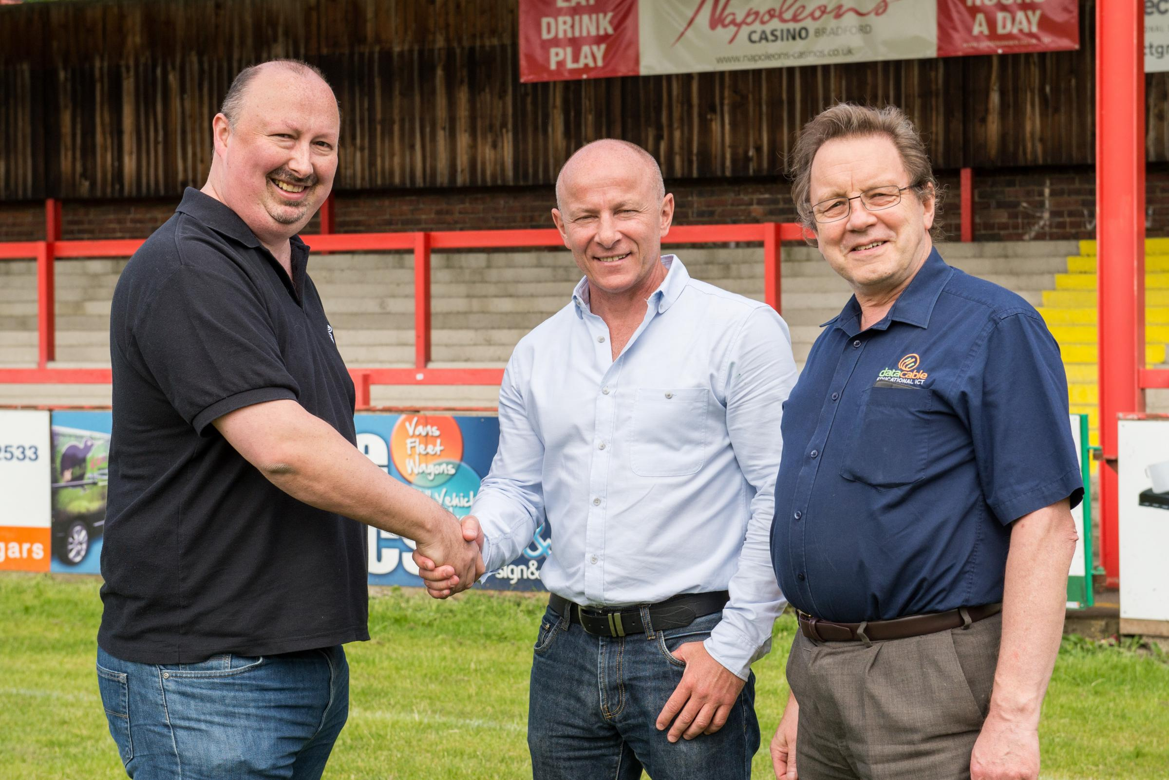 Local firms back Keighley Cougars by kitting out ground with wi-fi technology