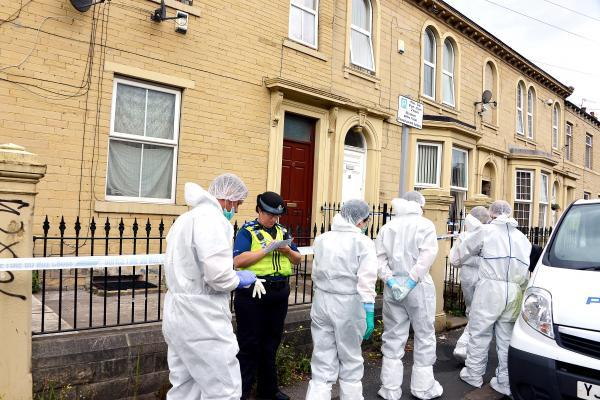 Bradford Telegraph and Argus: Scenes of crime officers