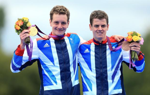 Brothers Alistair and Jonny Brownlee won gold and bronze medals at the Olympics in London