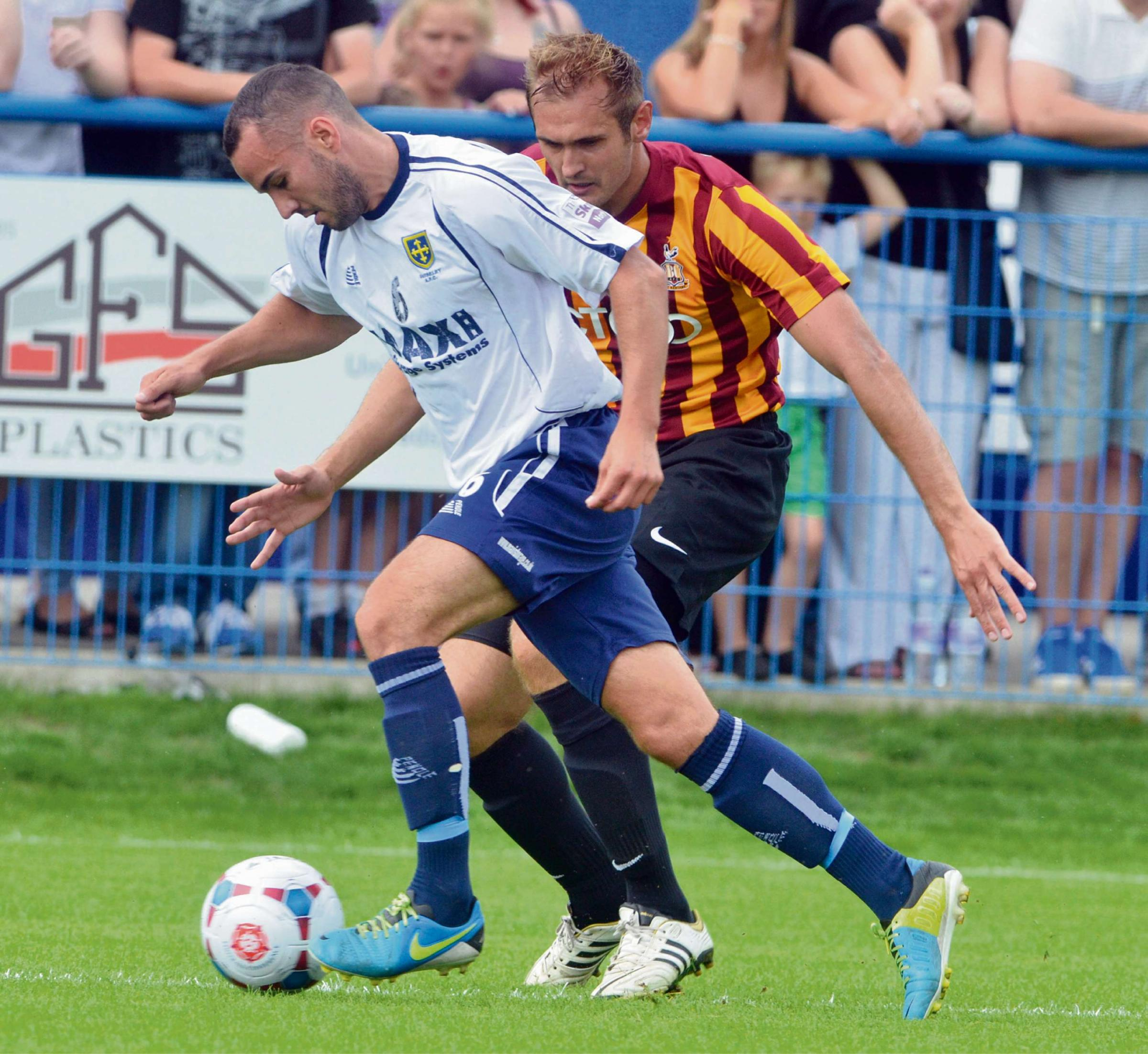 James Hanson keen to play his part in changing face of Bradford City