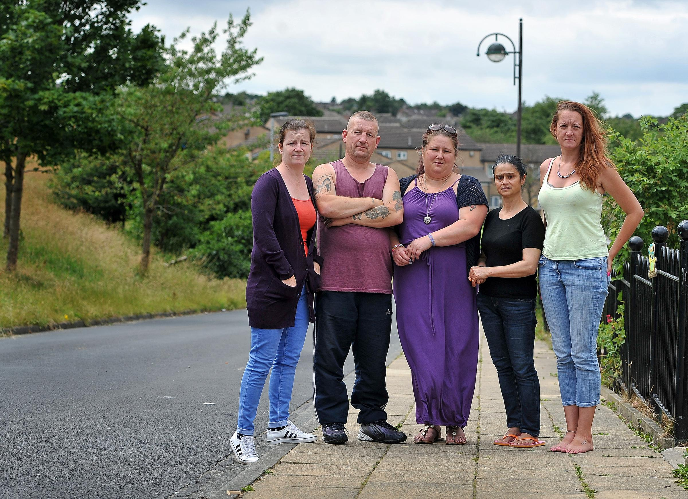 VIDEO: Neighbours call for safety bollards to stop road menace in Holme Wood, Bradford