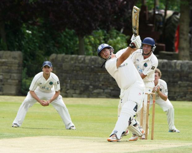 Steeton, for whom Jonny Stander is hitting a six against Burley last weekend, are seeking a second straight league win