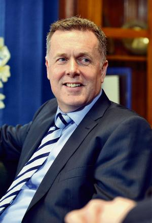 Chief Executive Tony Reeves