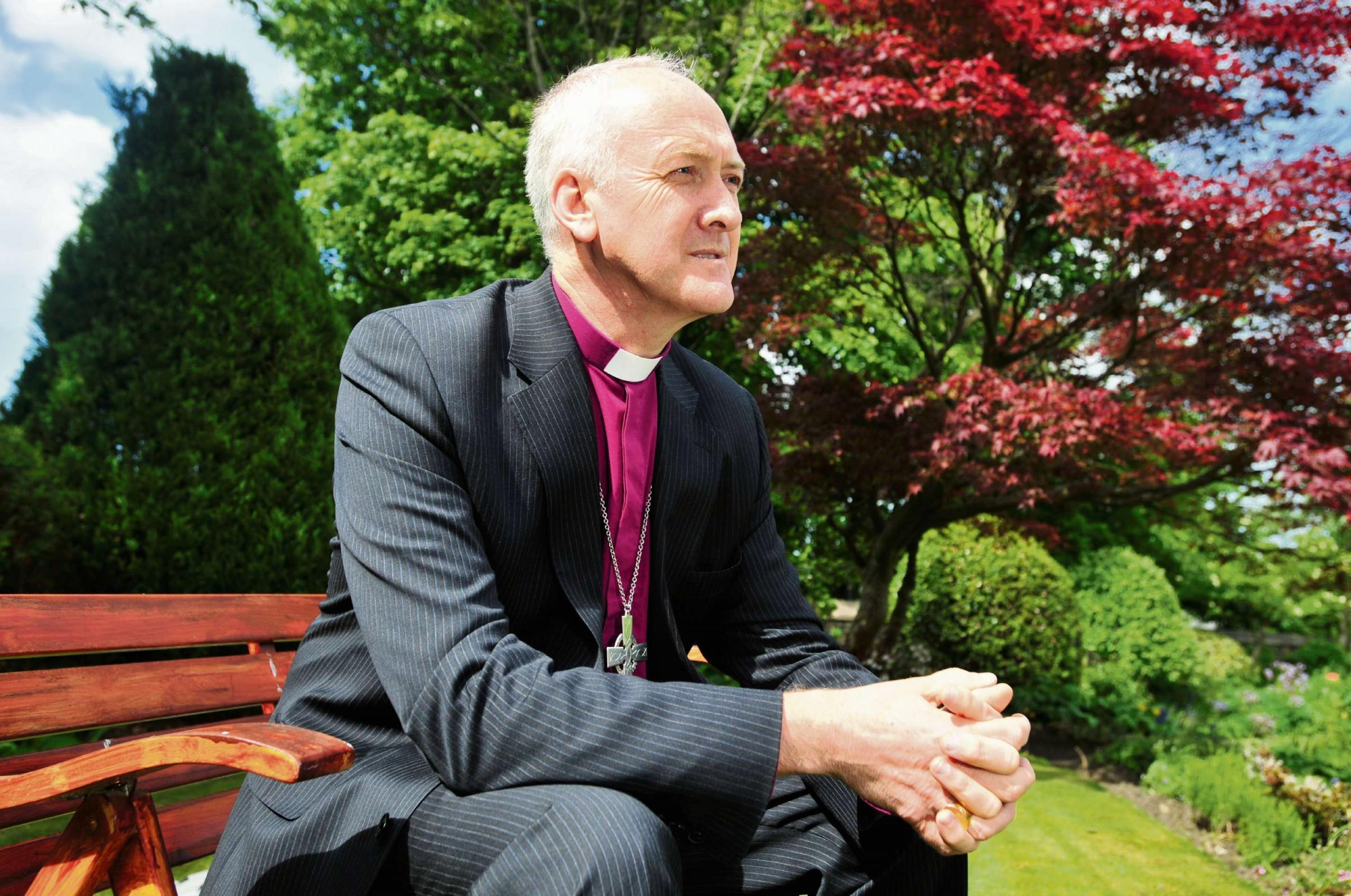 'EXCITING': Nick Baines will sit in the Lords after being enthroned as Bishop for West Yorkshire and the Dales