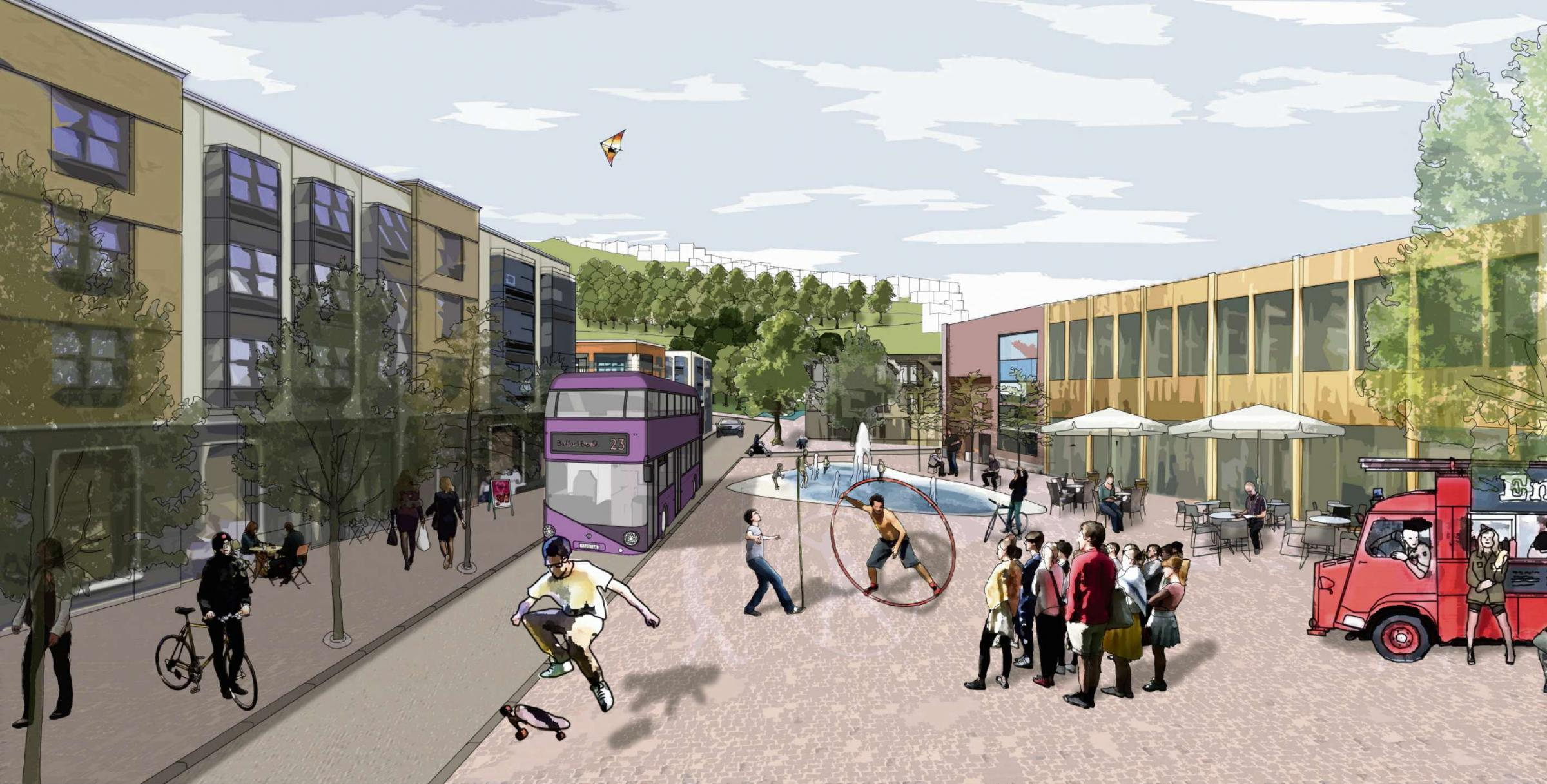 Plans for £250m Bradford eco-village go on display