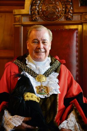 WISH-MAKER: The Lord Mayor of Bradford Councillor Mike Gibbons