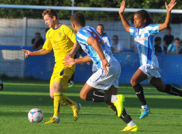 Guiseley beaten as Terriers tame Lions