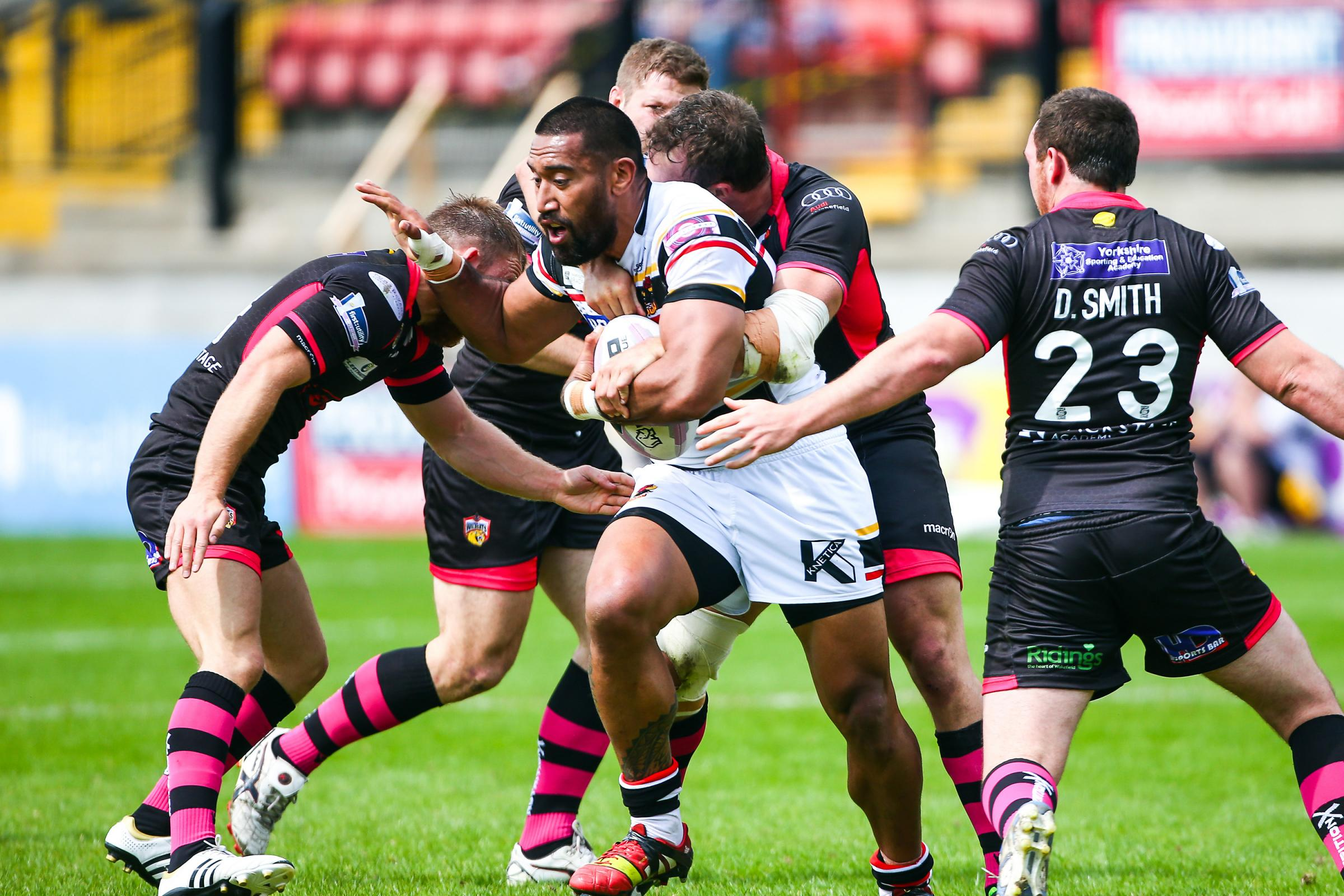 Manase Manuokafoa ponders Bradford Bulls future after relegation