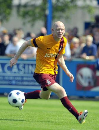 Jason Kennedy was one of only four senior players on duty at Ossett