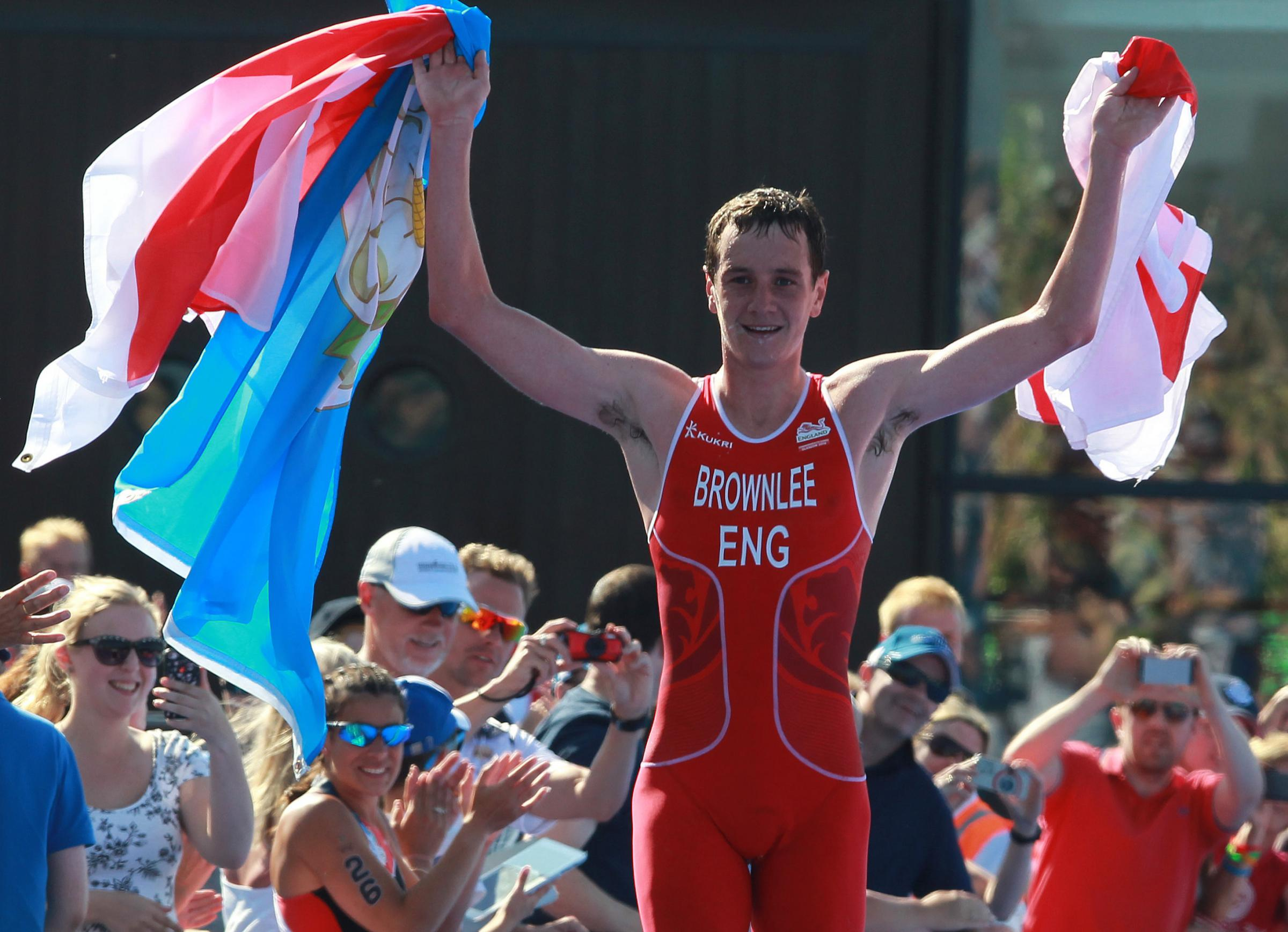Golden boy Brownlee hungry for more glory