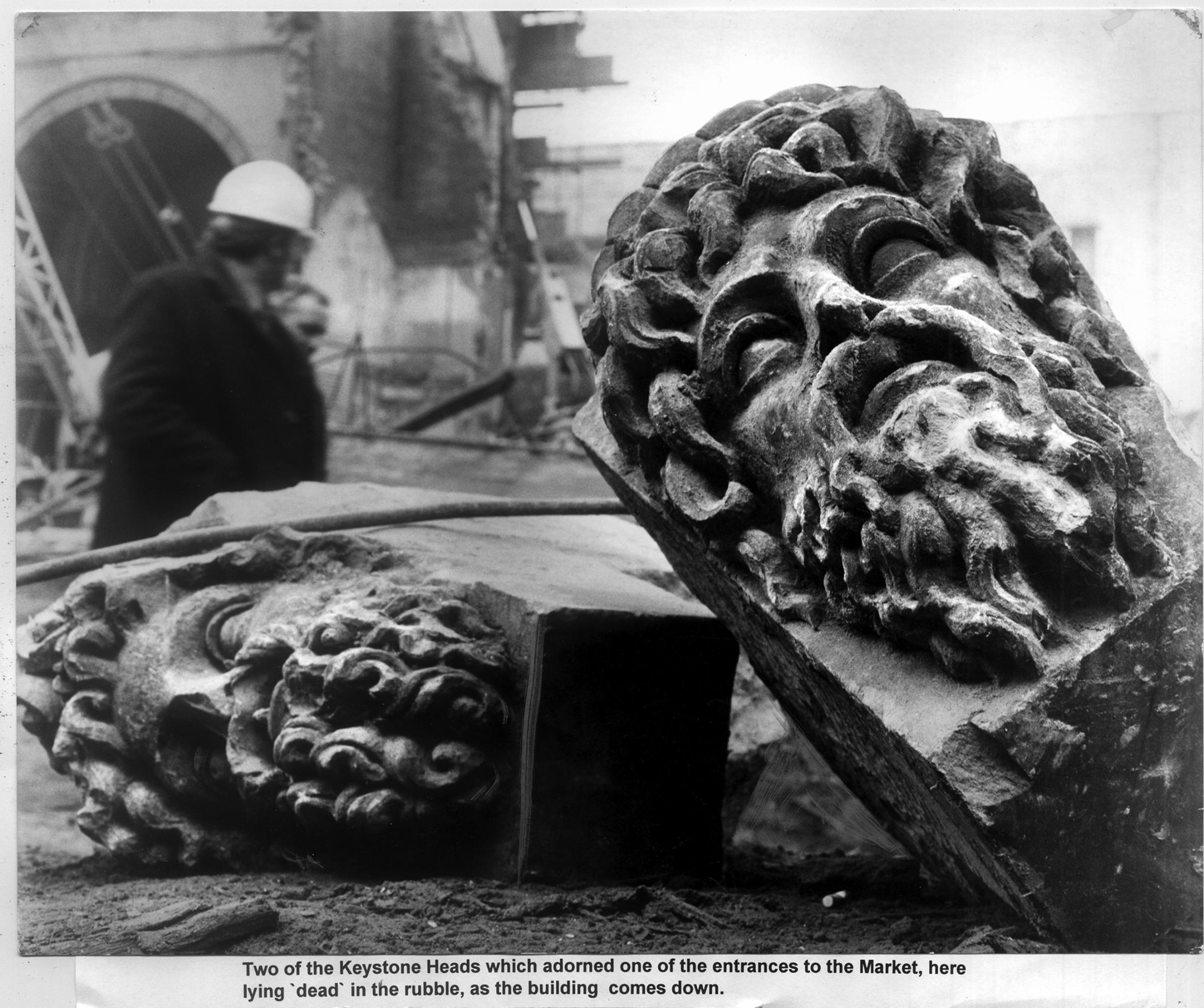 Ornate stone from Bradford's past revitalising city in new plan by heritage rescue team