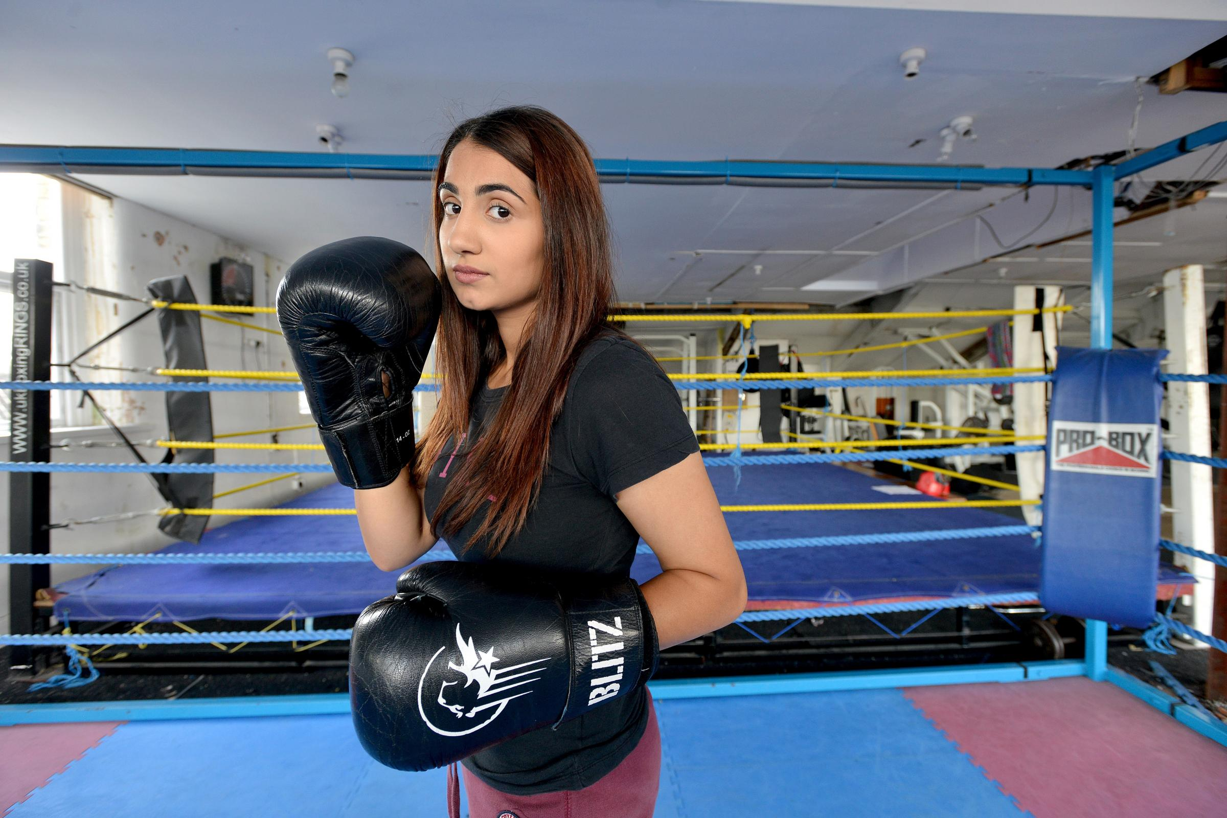 VIDEO: Britain's first female Muslim boxer's story taken to the stage