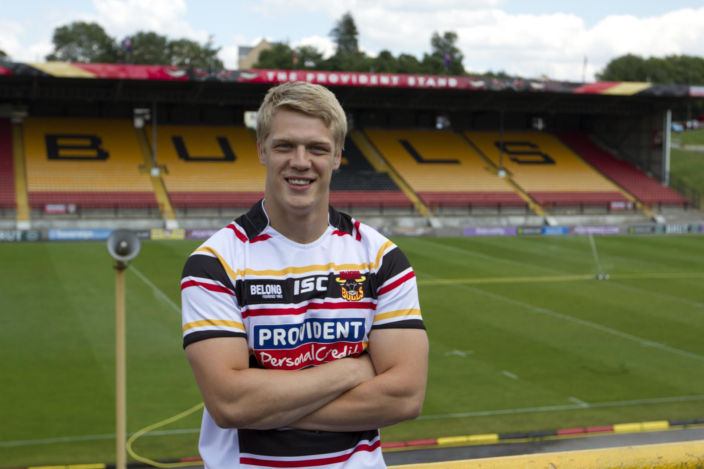 Dan Fleming is Bradford Bulls' first new signing for 2015