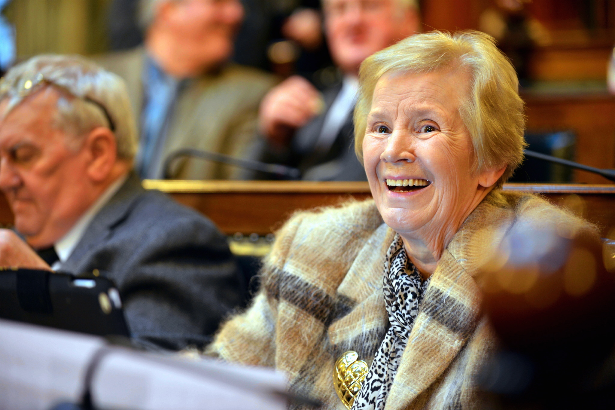 Tributes paid to brave former Lord Mayor and councillor Valerie Binney who has died aged 75