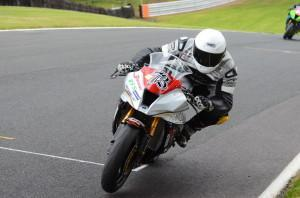 David Brook in action at Oulton Park