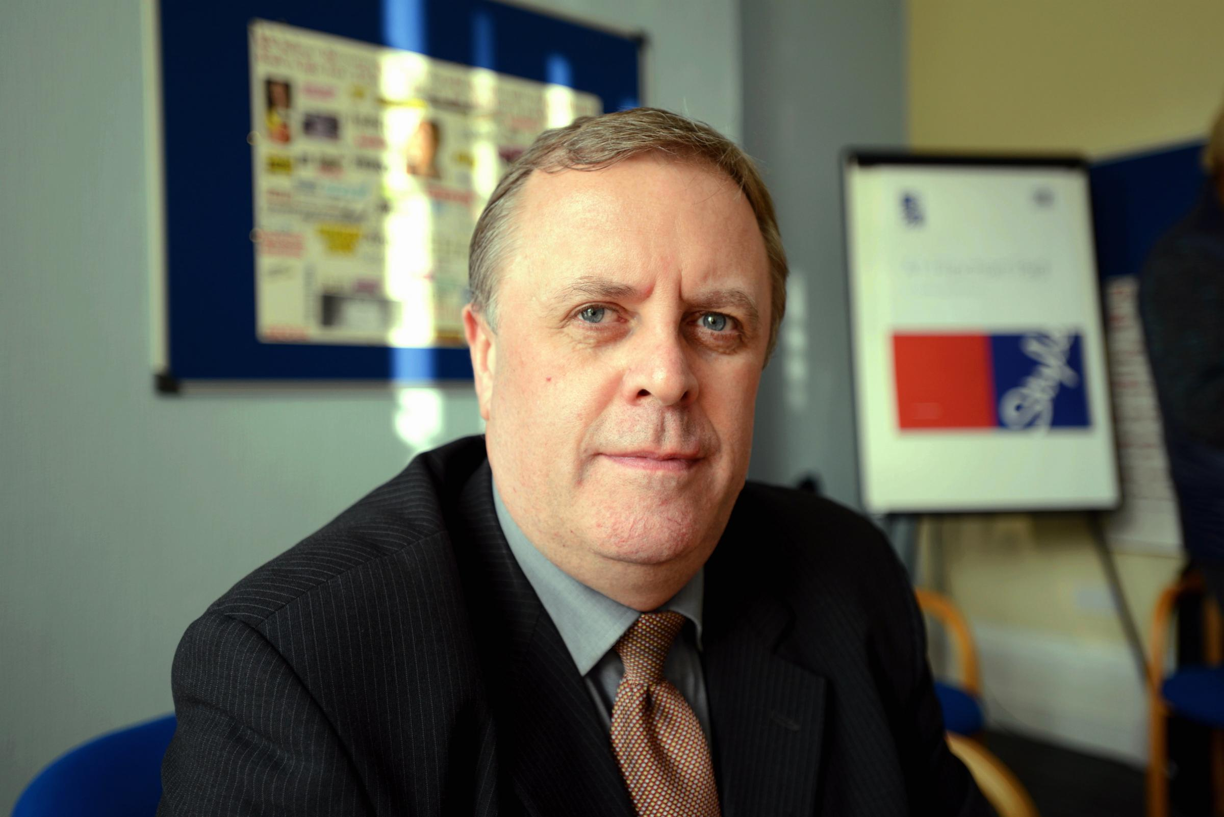 Mark Burns-Williamson, Police and Crime Commissioner for West Yorkshire