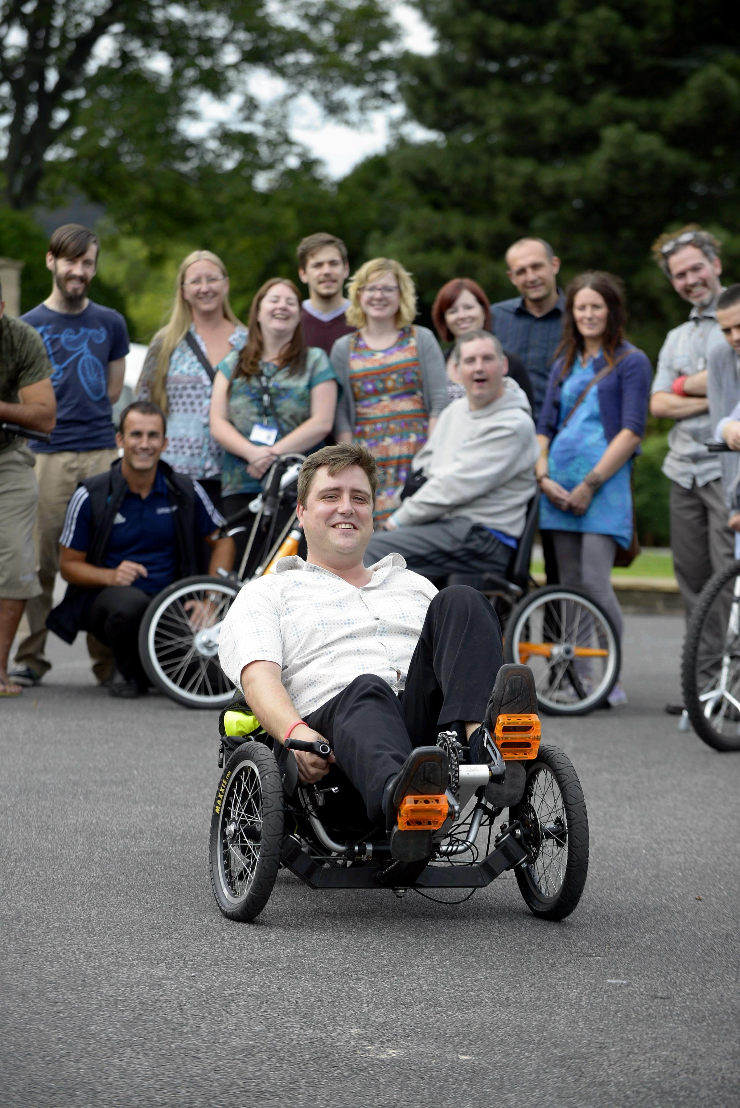 Disability cycling club nominated for Community Stars Awards
