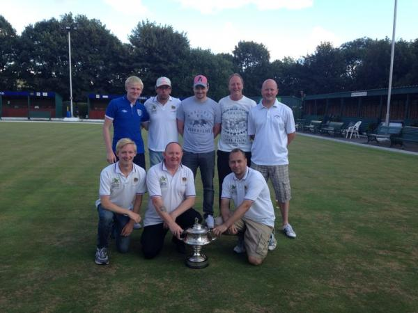 The winning Howarth Cup team, Shipley Club A (