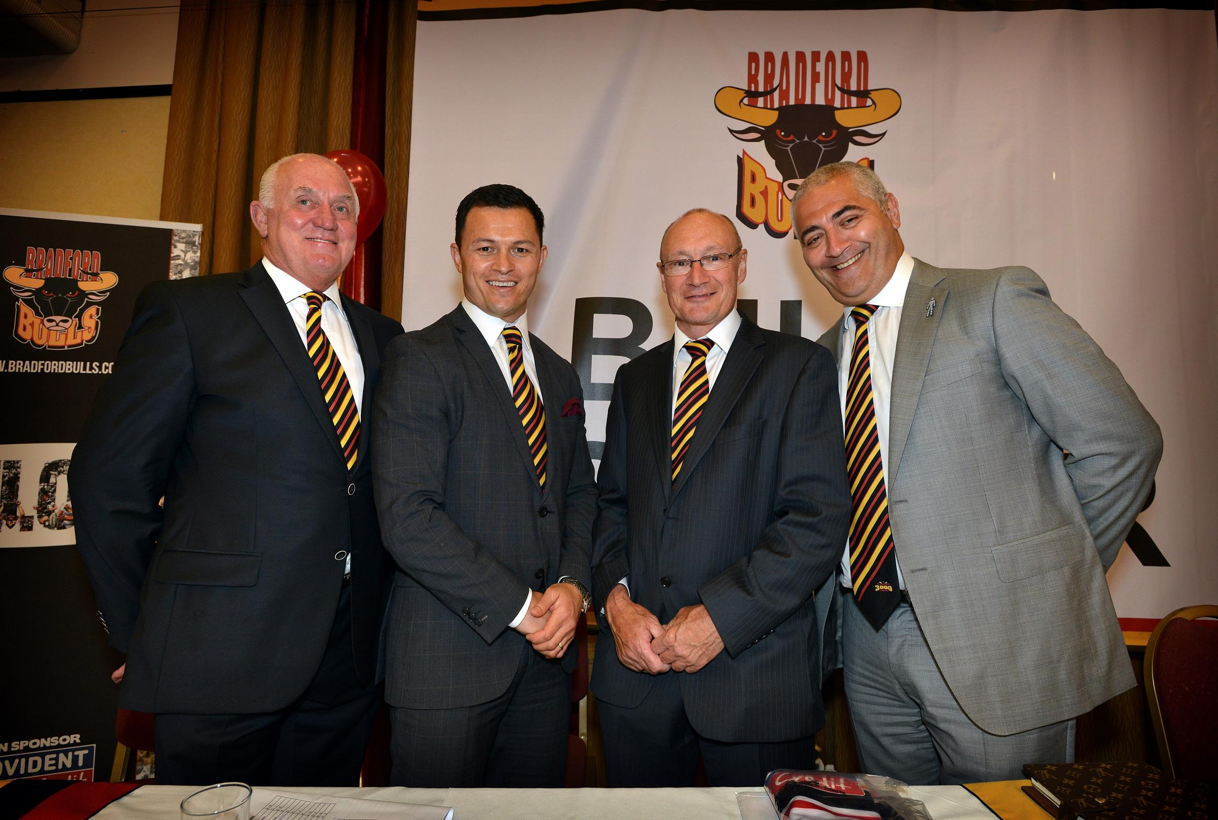 VIDEO: Chairman vows to turn a profit at Odsal with Bulls' rugby success 'a by-product'
