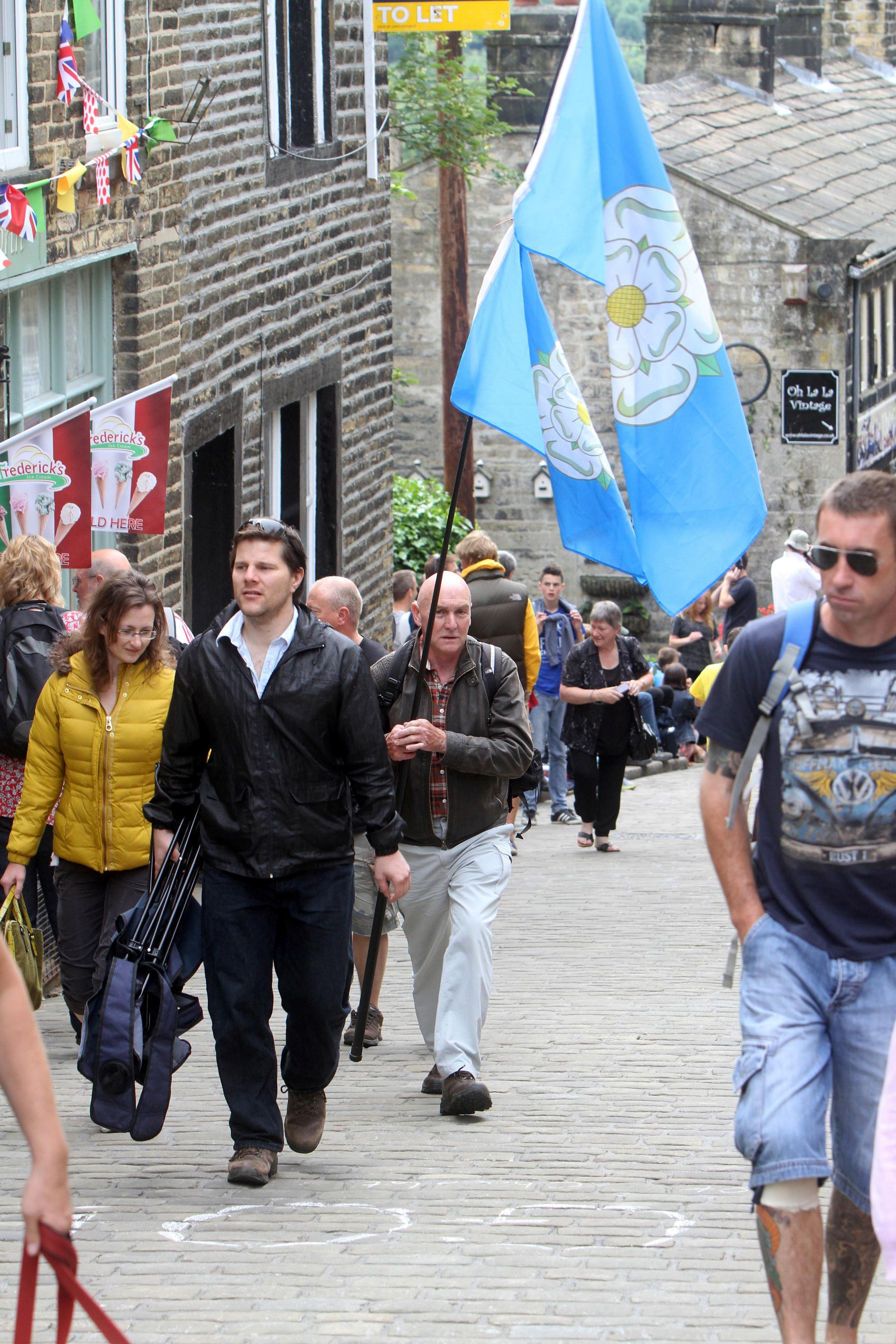 Yorkshire Day celebrations get underway across the Bradford district
