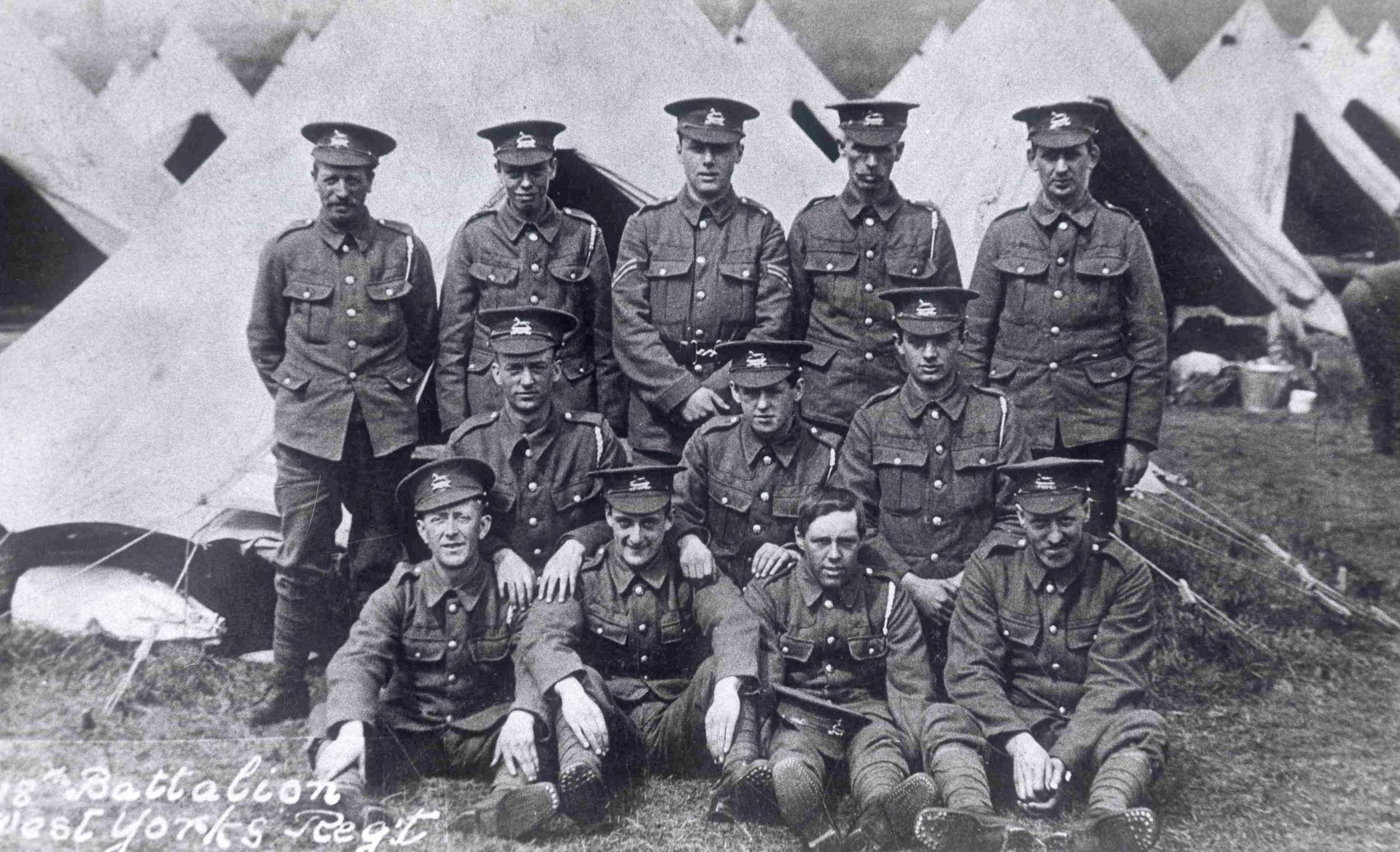 Help honour Bradford's WW1 heroes with new memorial to the Pals