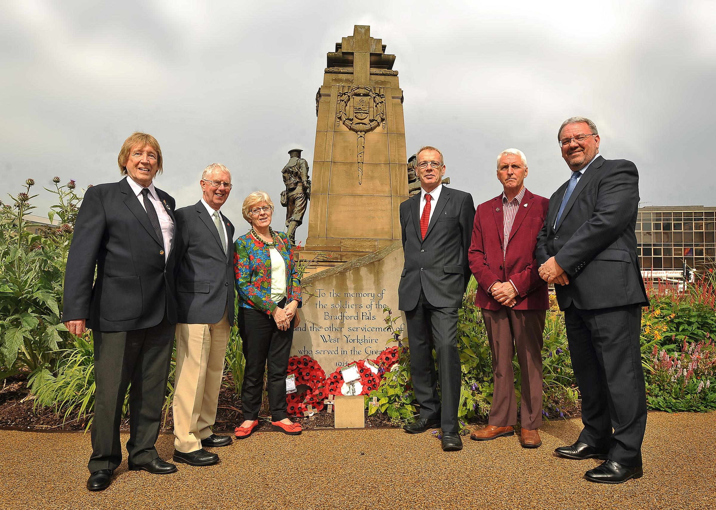 Help to honour city's WW1 heroes with appeal to raise money for new  Bradford Pals memorial
