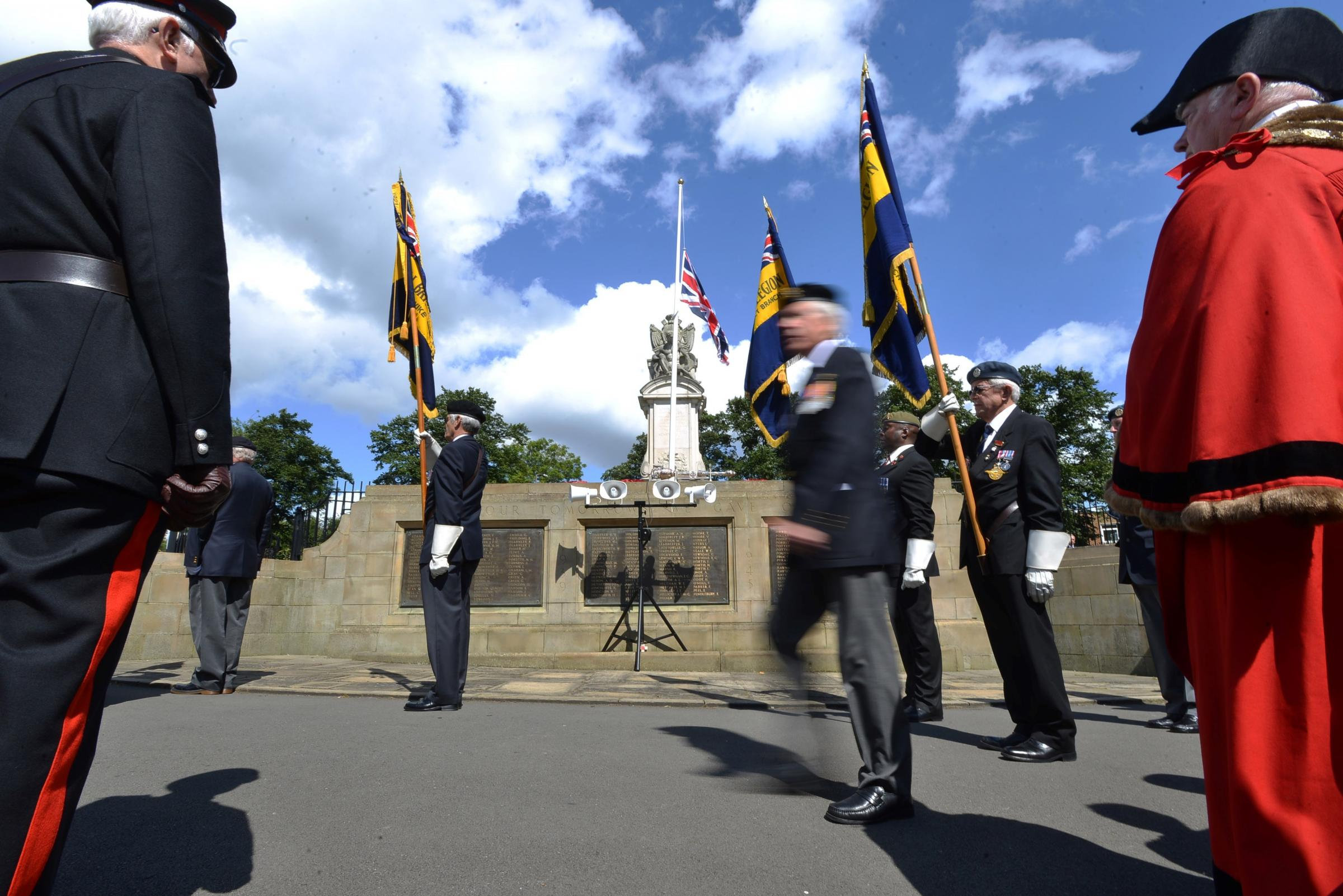 VIDEO: Poignant services across Bradford  commemorate centenary of Britain entering First World War