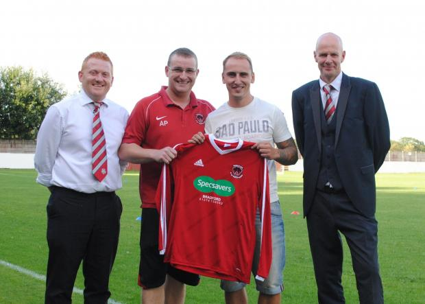 Signing Luke O'Brien is a statement of intent from Thackley's new management