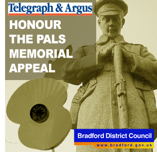 Bradford Telegraph and Argus: Honour The Pals Appeal