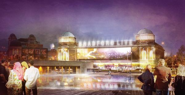 Bradford Live's vision for the former Odeon building