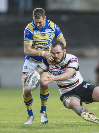 Dale Ferguson made his first appearance in two months in Friday's memorable win at arch-rivals Leeds Rhinos
