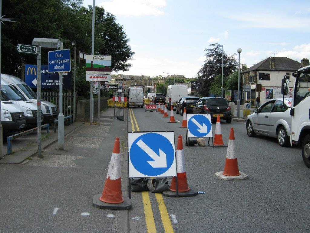 Residents' frustration over gas works traffic delays